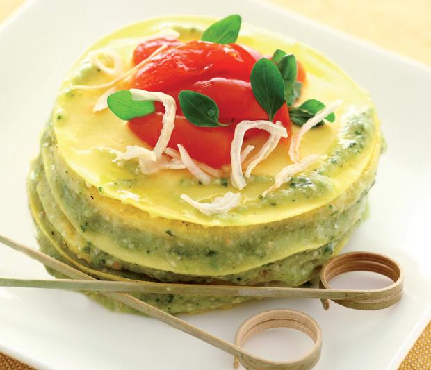 Ricetta lasagna al pesto e bagna cauda tra piemonte e liguria cirio - Al ta cucina ricette ...